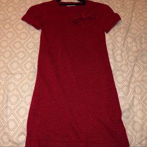 H&M Red Bowtie Dress
